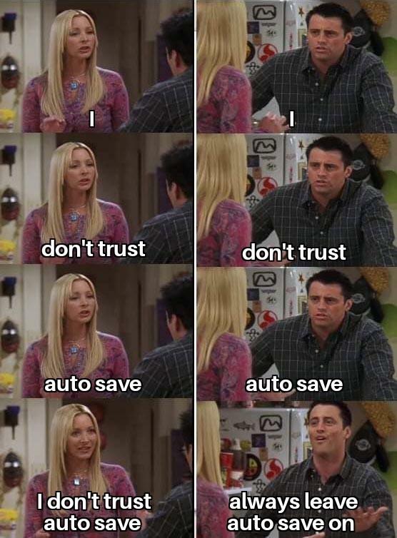 I just don't trust it - meme