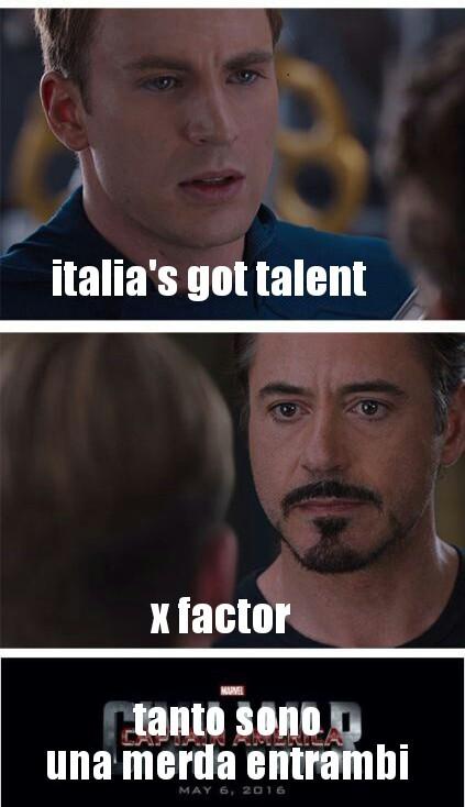 Forse italia's got talent è meglio perché c'è più figa - meme