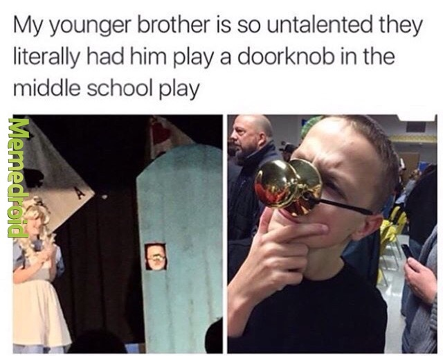 he deserves an oscar - meme