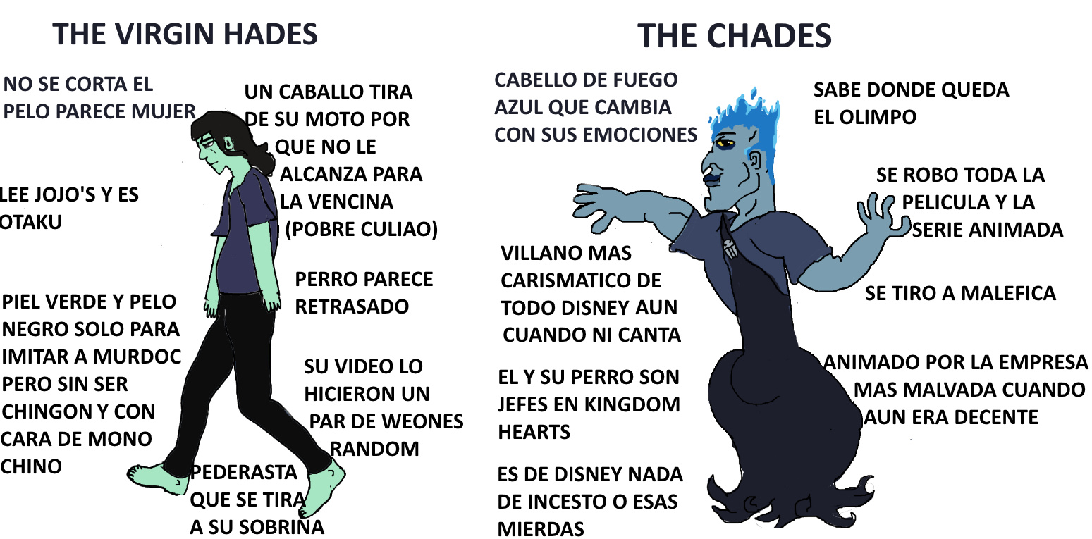 The true Hades - meme