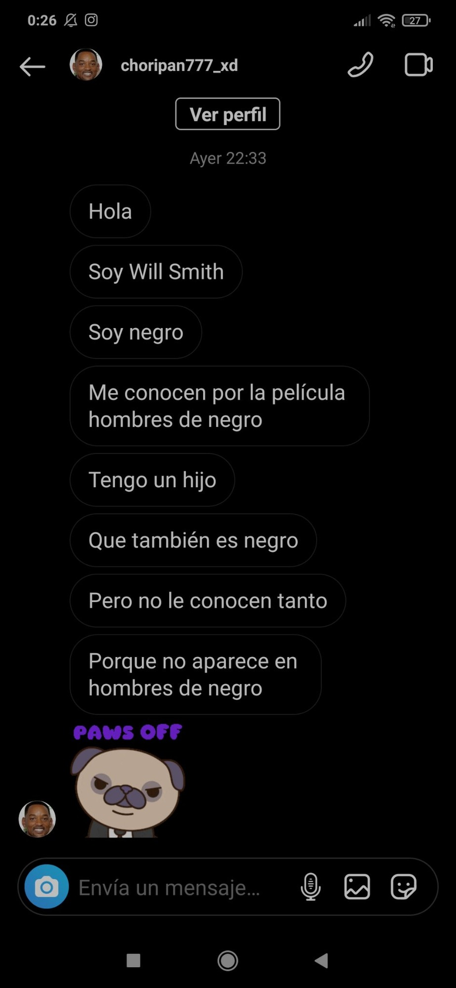 De hombres de negro. - meme