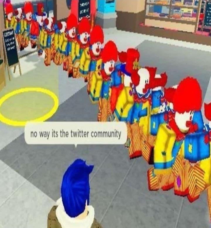 Não creio, é a comunidade do Twitter! - meme