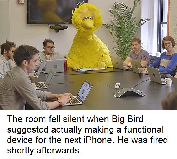 Big Bird will remember that - meme
