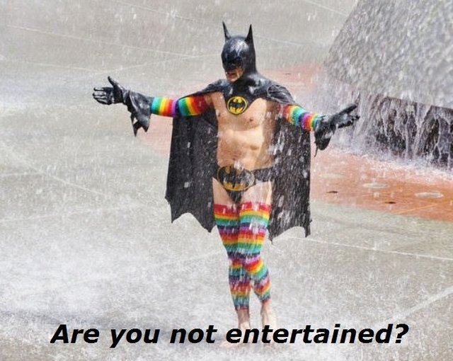 ARE YOU ENTERTAINED?? - meme
