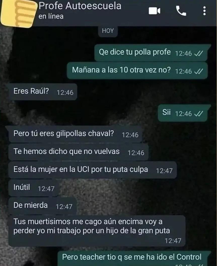 Raúl todo un capo - meme