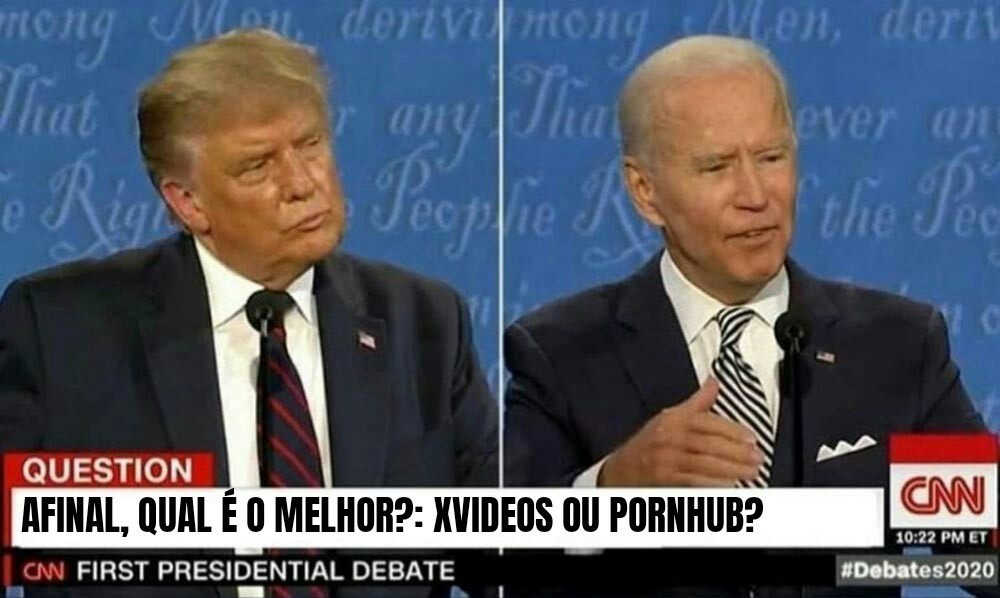 Debate da década. - meme