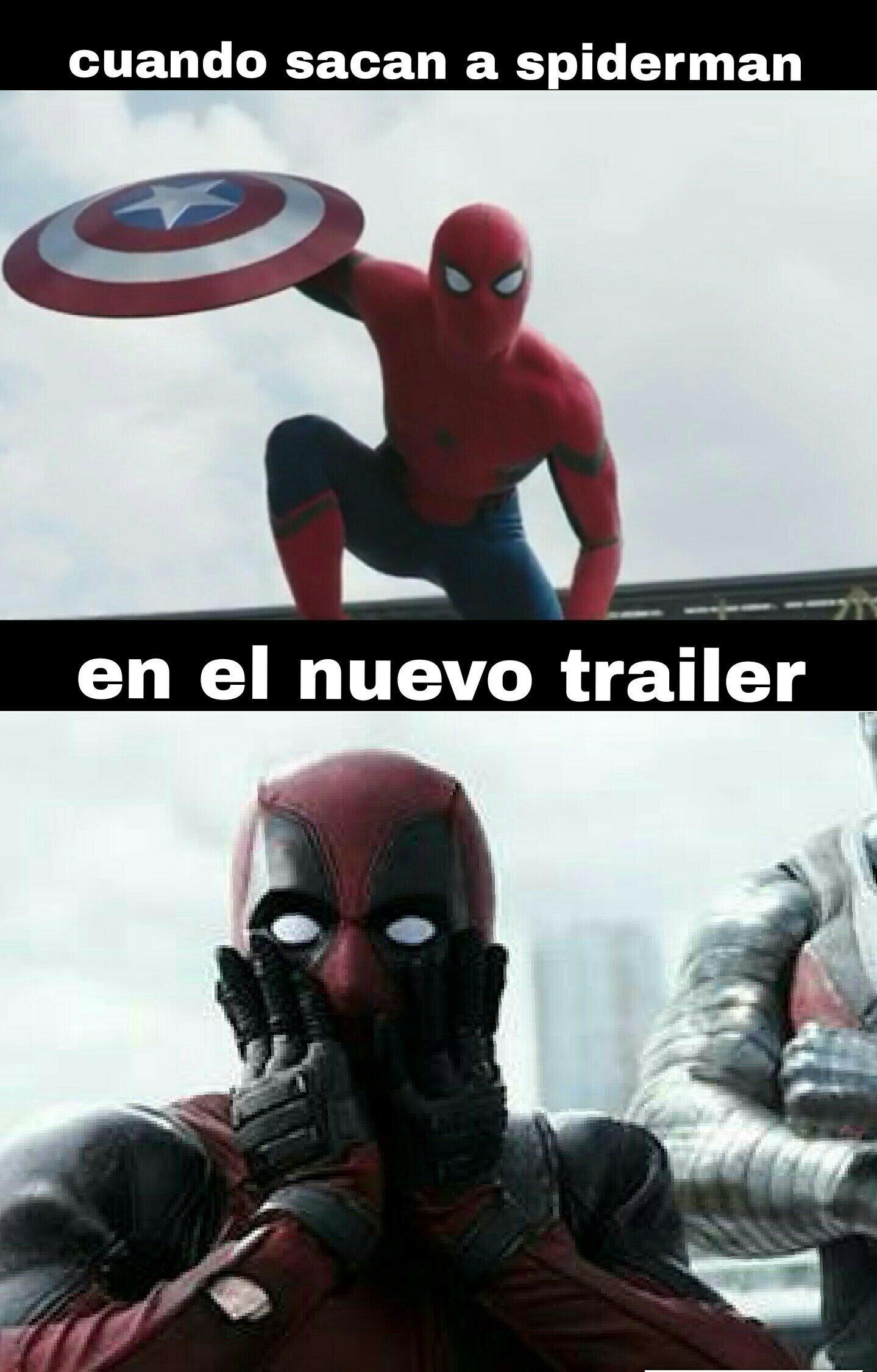 Nuevo trailer - meme