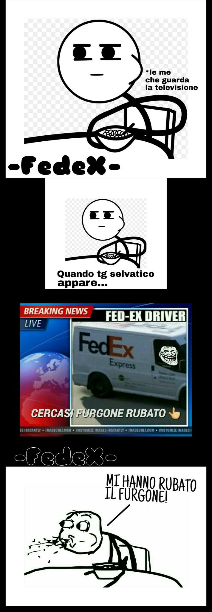 Rivoglio il mio furgone !!! - meme