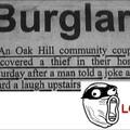 Innocent Burglar