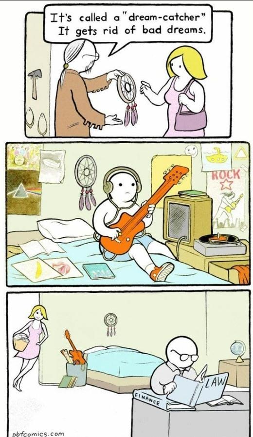 Be a drummer - meme