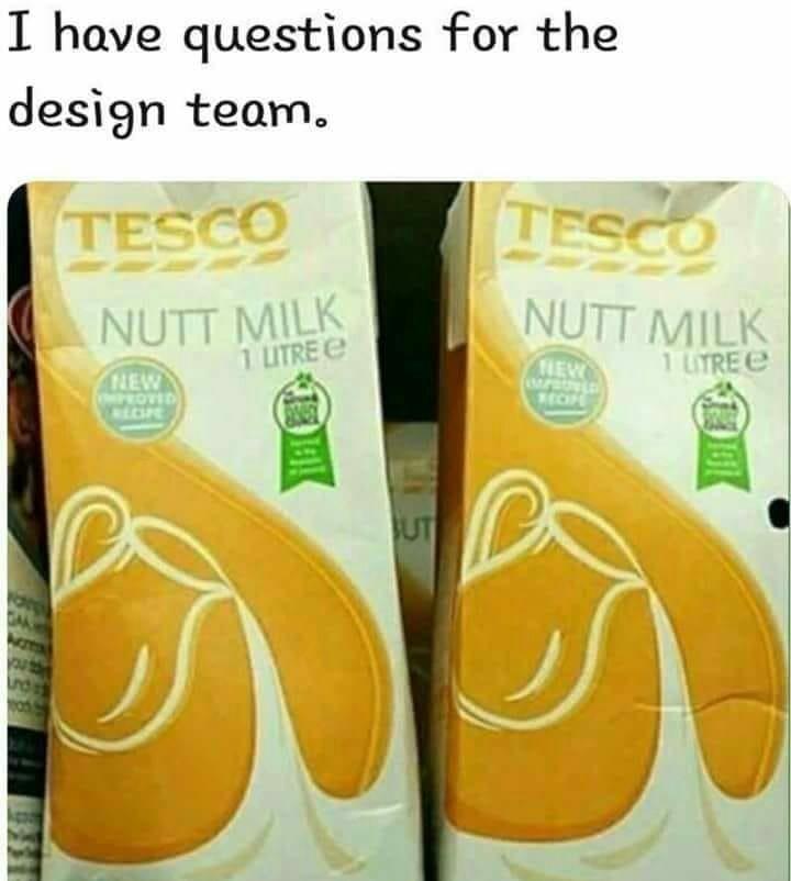 I want some nut milk! - meme