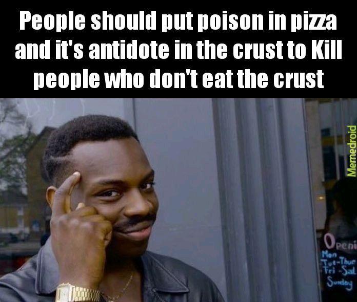 Pizzacrust - meme