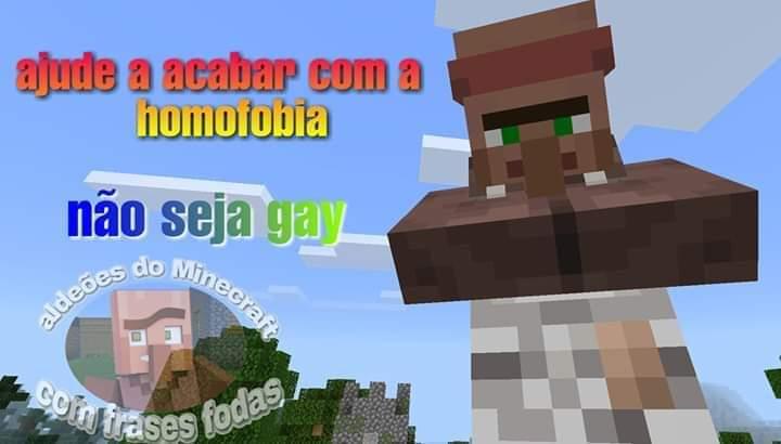 Homofobia não, é crime (eu voltei  :) ) - meme