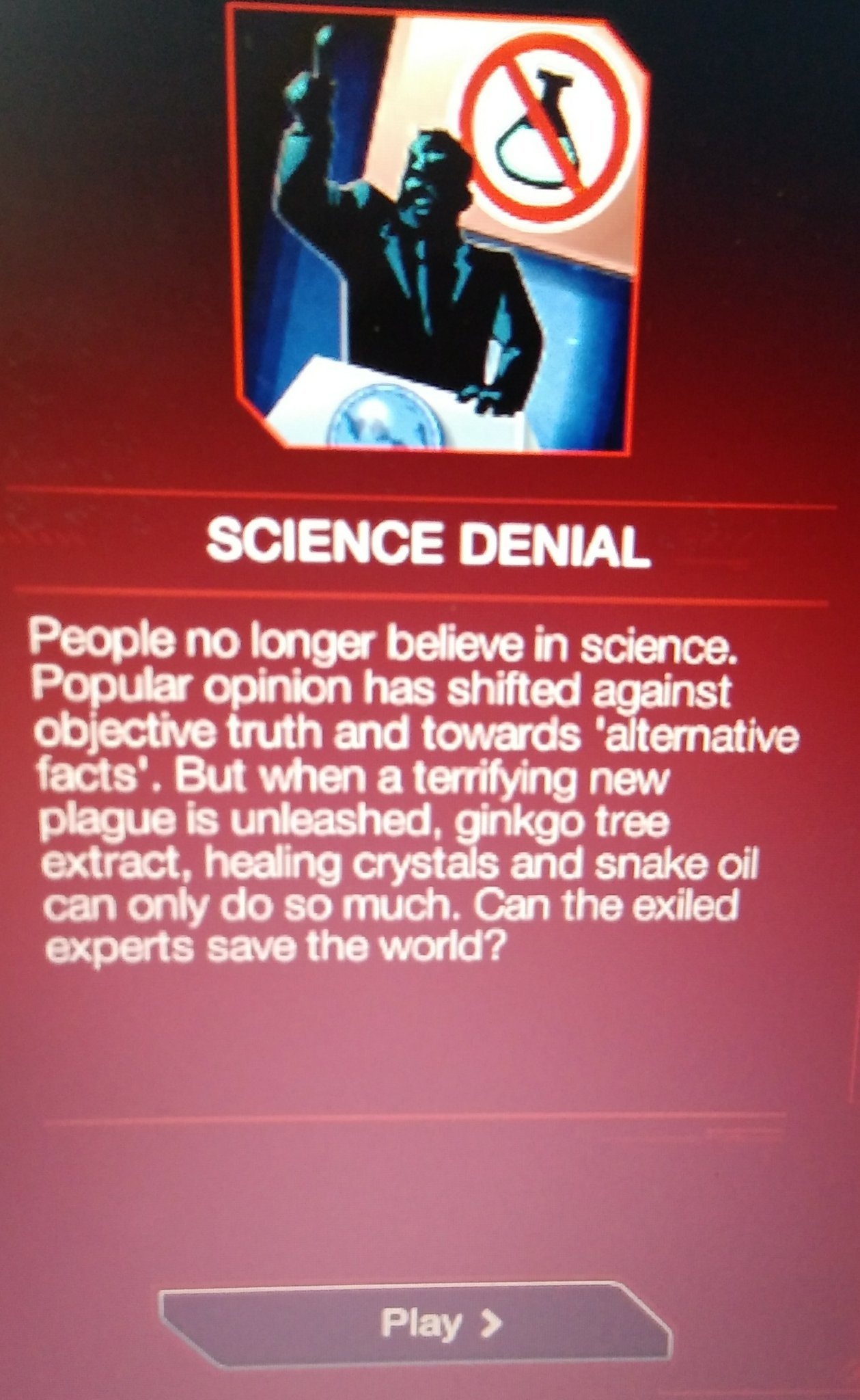 They actually did it! Anti-vax mode in Plague Inc! - meme
