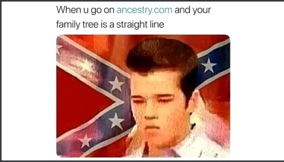 Then I fricked mah sister an' went outside to beat niggers while they picked my cotton - meme