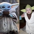 The Bride and I were 13 years ahead of Disney+ in making a Baby Yoda