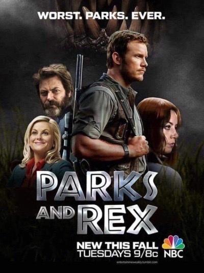 Parks and Rex - meme