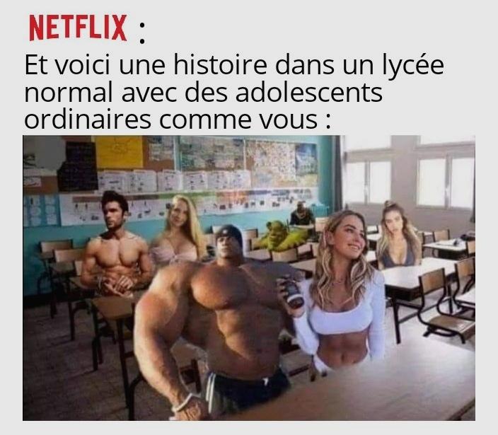 Le logo Netflix c'est ma petite touche perso xD - meme