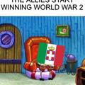 When the allies start winning....
