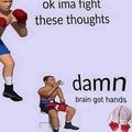 I got knocked out