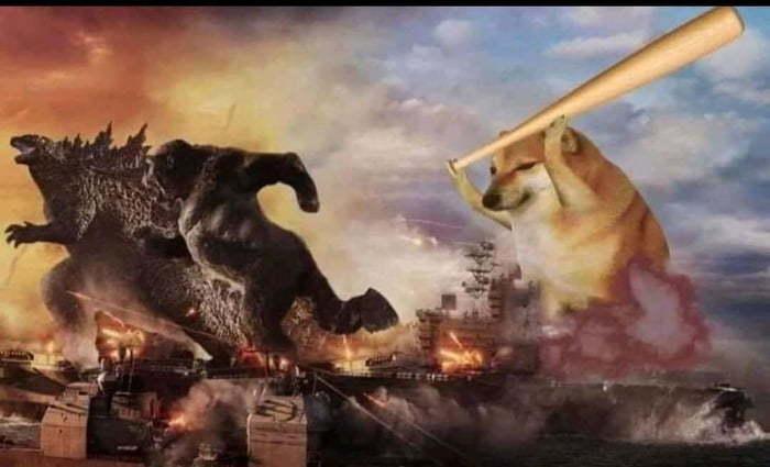 Leaked footage from Godzilla vs Kong (spoiler) - meme