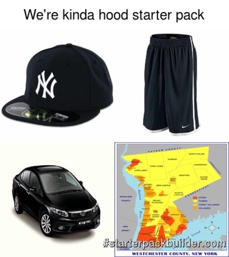 we're kinda hood... - meme