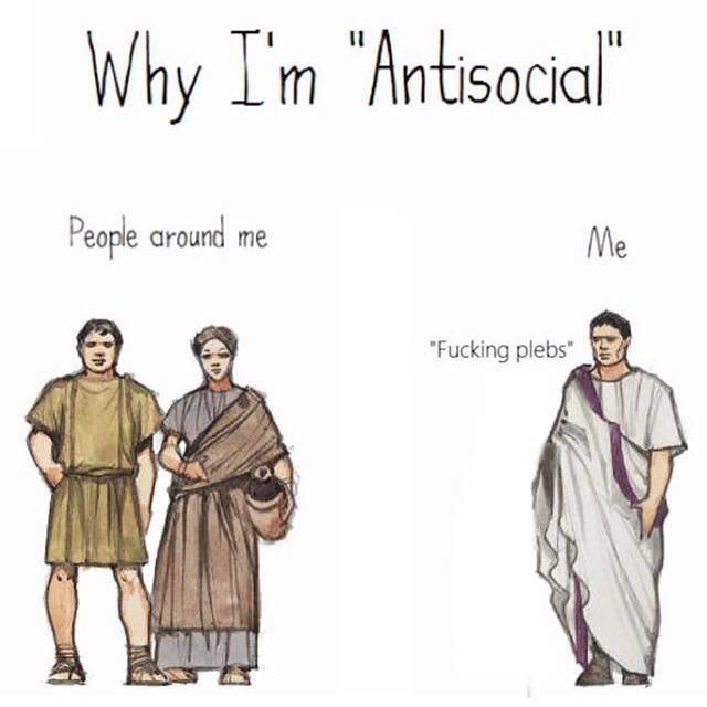 antisocial - meme