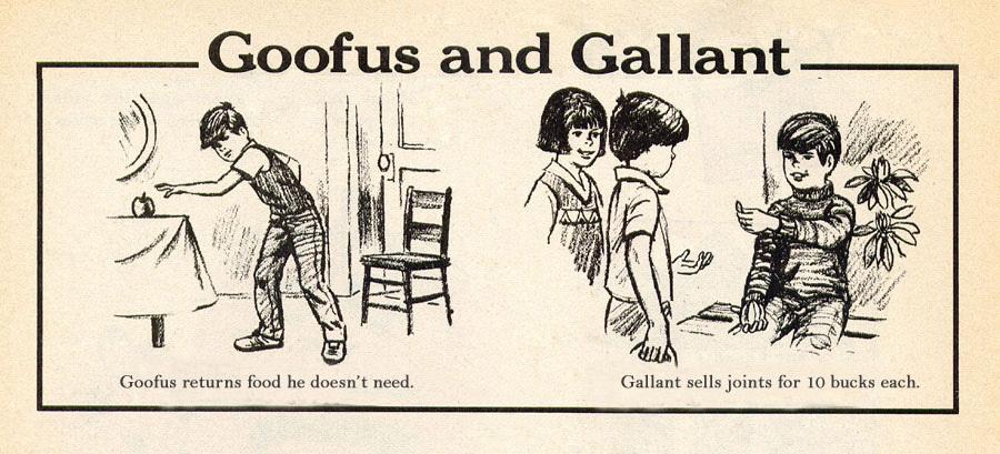 Goofus & Gallant Spoof 1 - meme