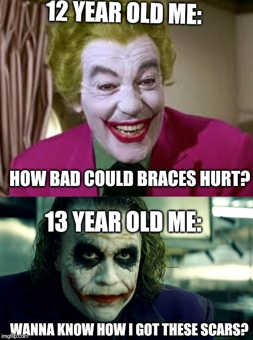 Do u want to know how i got th3se scars... - meme