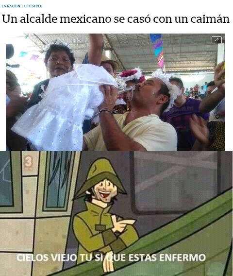 Pobre caimán che - meme