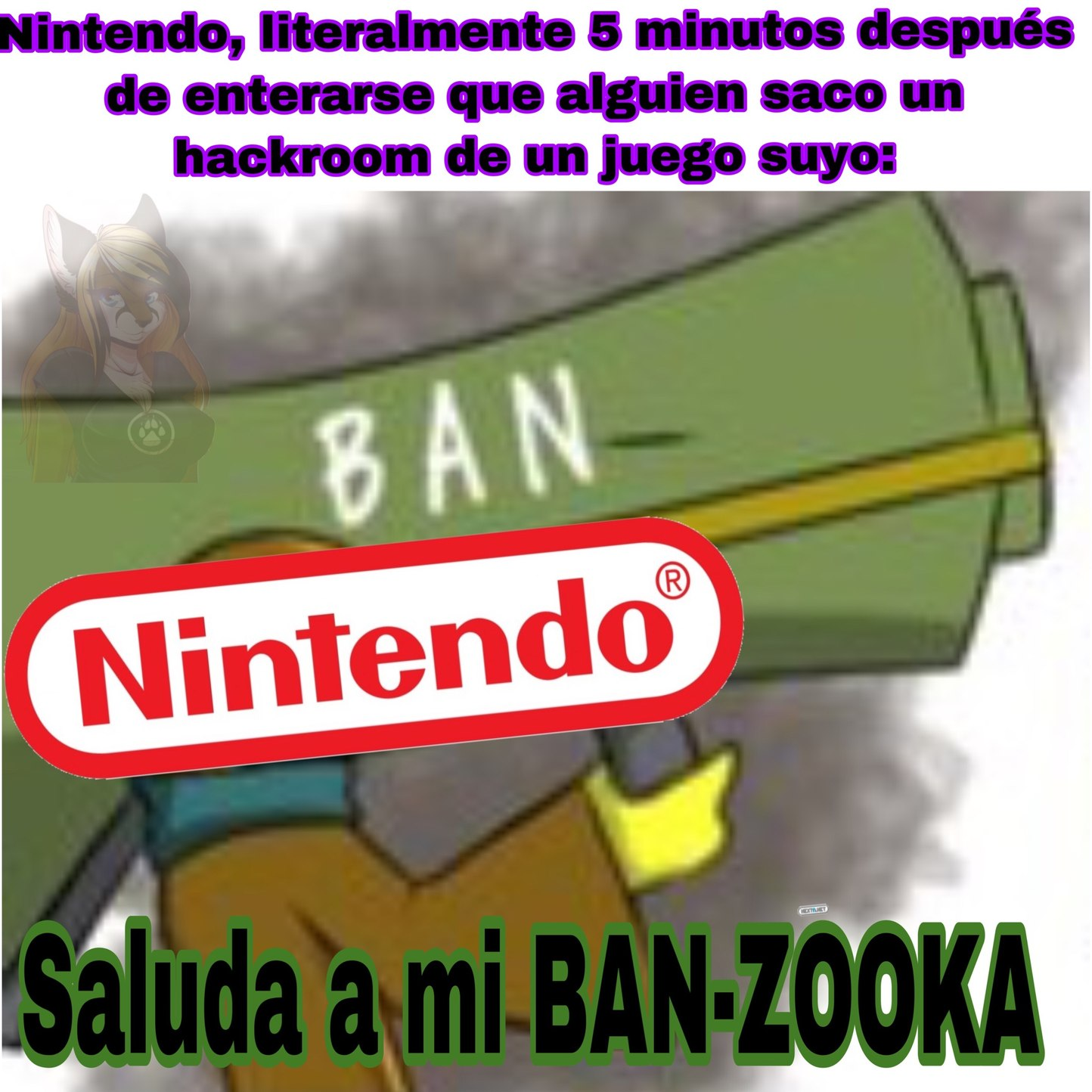 entendieron? ban-zooka....ban....zooka.....ok ya paro - meme