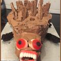 Hedgehog Cake Fail