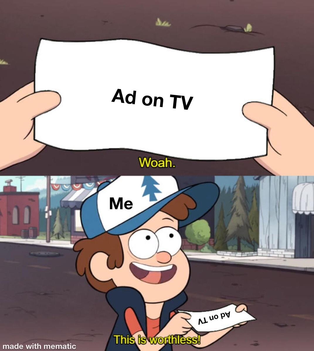 worthless - meme