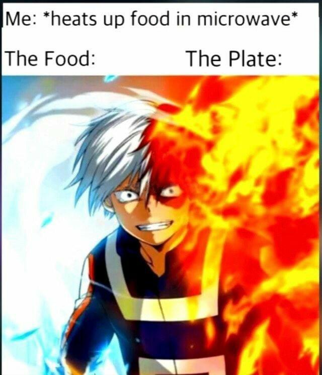 Its your powe Todoroki - meme