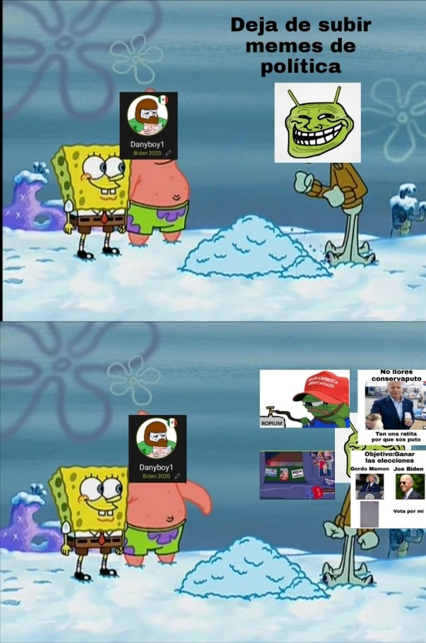 No tengo más negativos, que Trump votos electorales - meme