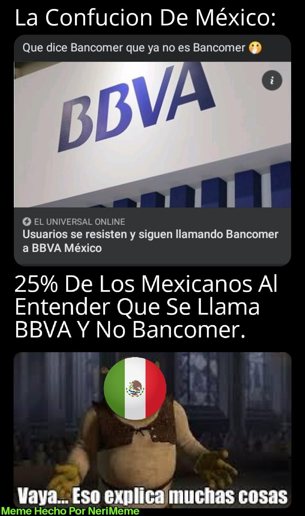 Meme: Solo Pasan En Mi País (México)