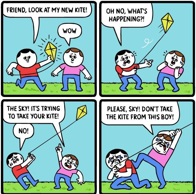 Why kite why - meme