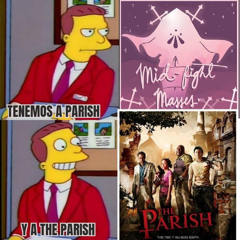 The Parish es un mapa, más no el final - meme