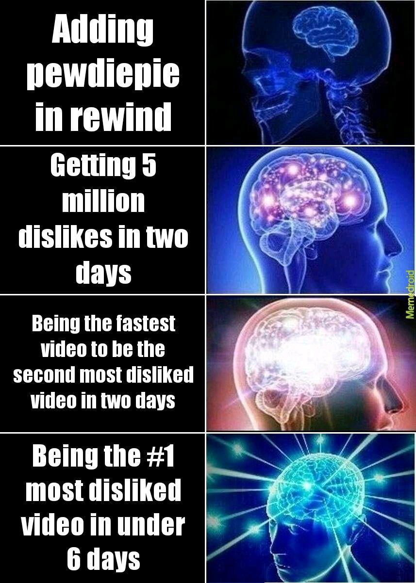 Rewind in a nutshell - meme
