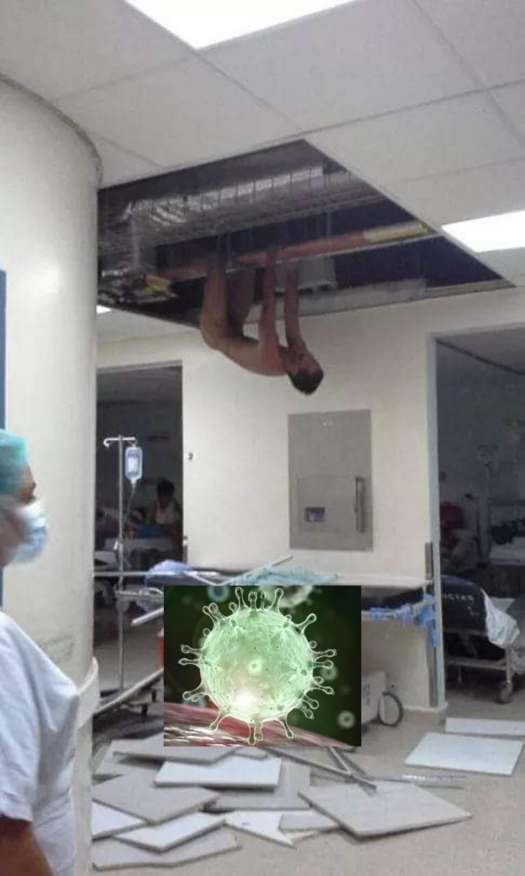 El título es enfermero - meme