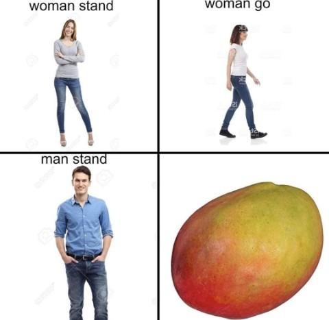 Man go - meme