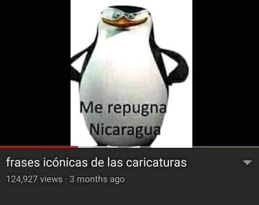 me repugna nicaragua - meme