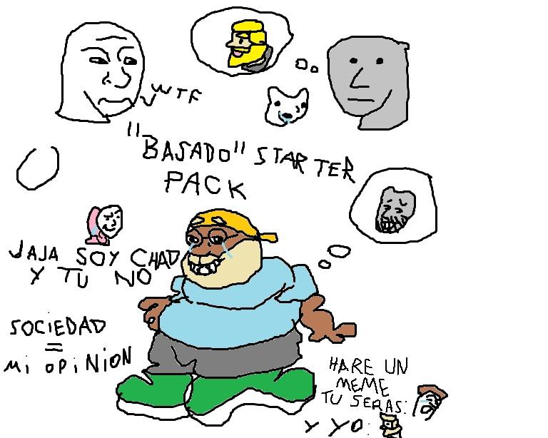 muuuuy basado pero BASADO en la sociedad - meme