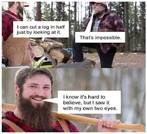 This joke is tree-sonous - meme