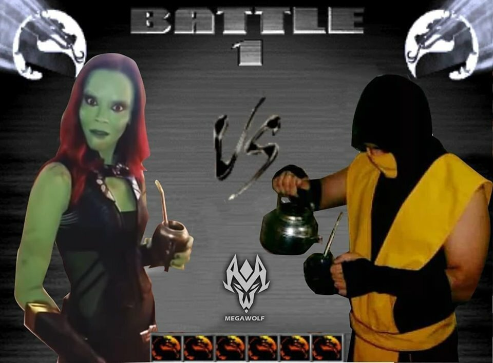 Qué bueno se ve el Mortal Kombat 11 che!!! (robar es malo) - meme
