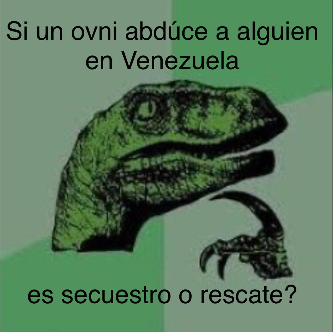 No se ofendan venezolanos - meme