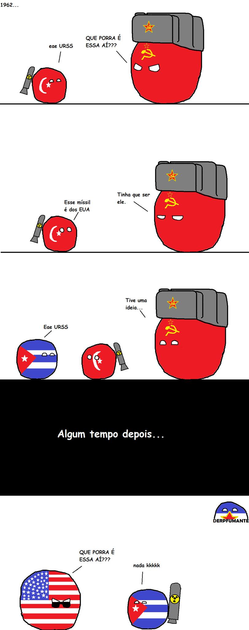 Crise dos mísseis - meme