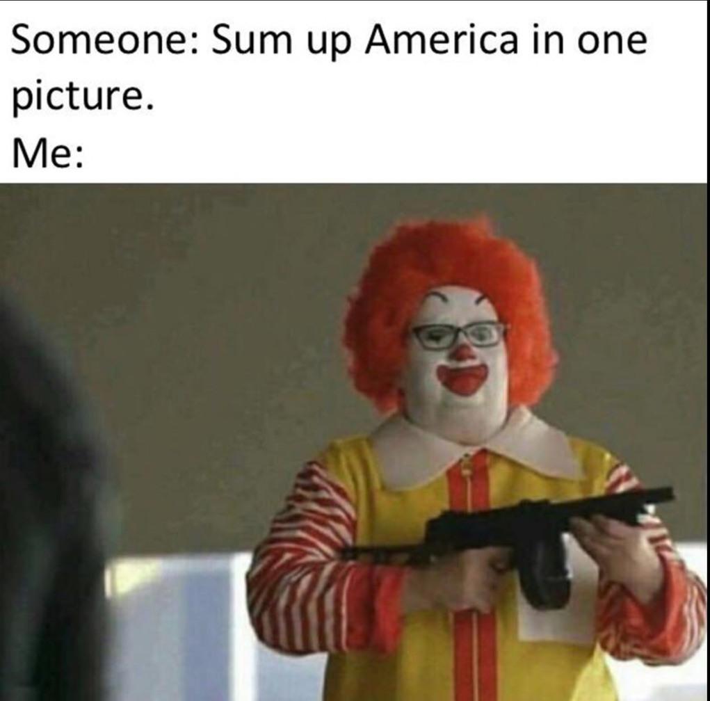 America is great - meme