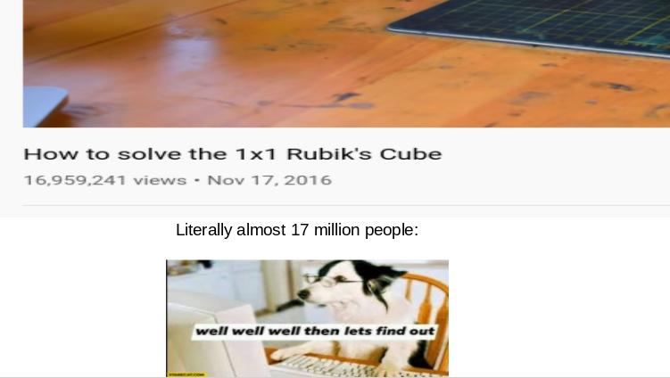 i wonder how to solve it - meme