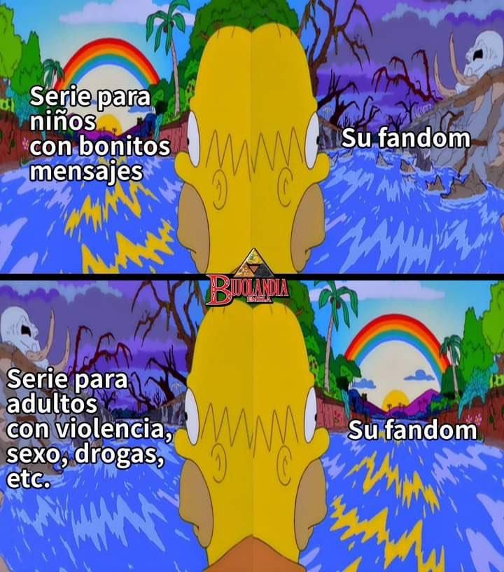 South Park y Steven Universe. - meme